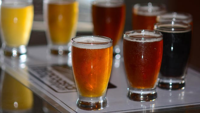 The brewers at Intracoastal have been trying scores of recipes in their first year of work.