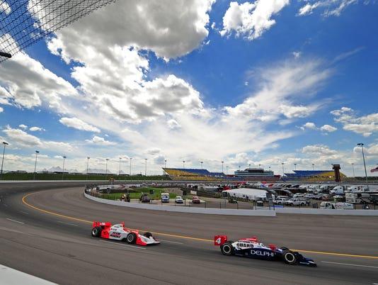 USP IRL_ Iowa Corn Indy 250-Practice