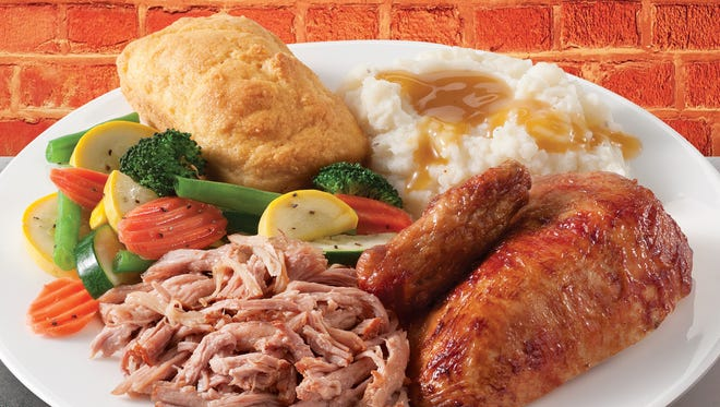 Boston Market is offering customers a buy-one-get-one free meal on Tax Da.