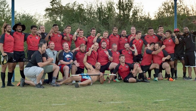 The Ventura County Rugby Club's Outlaws won the Southern California championship.