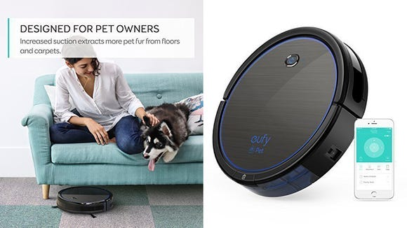 Pet owners rejoice! There's an affordable robot vacuum