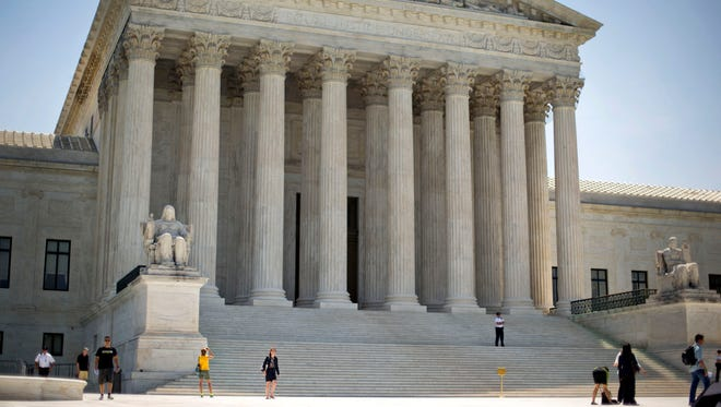 "The Supreme Court ruled on a case involving the political ""gerrymandering"" of district lines for Congress."
