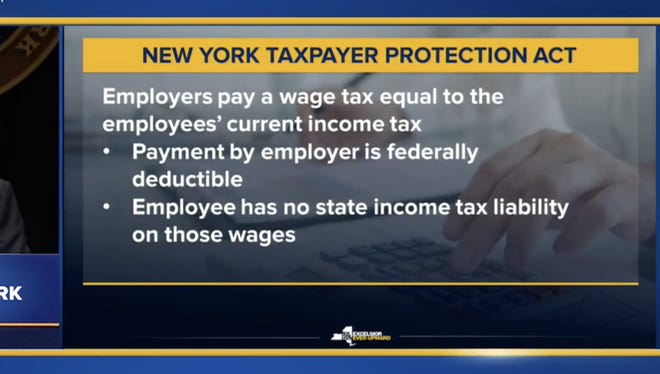 Gov. Andrew Cuomo gave his budget presentation Tuesday, Jan. 16, 2018.