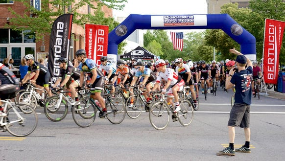 The fourth annual Asheville Gran Fondo bike ride to
