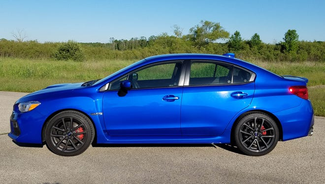 The 2018 Surbaru WRX is fun and fast.