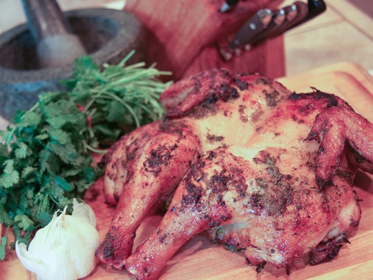 Thai Boxing Square Chicken