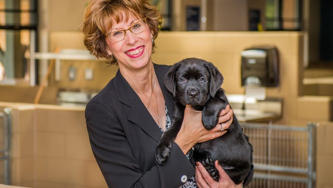 Sue Daniels, president and CEO of Detroit Leader Dogs for the Blind.