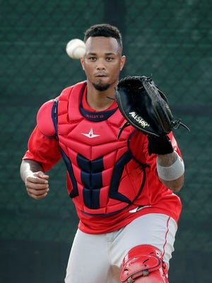 """""""There are still people going to bed hungry,'' says Angels catcher Martin Maldonado of Puerto Rican residents."""