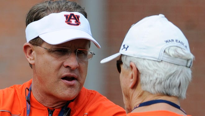 Auburn coach Gus Malzahn wants a balanced offense this season and defensive coordinator Ellis Johnson's group can help make it happen.