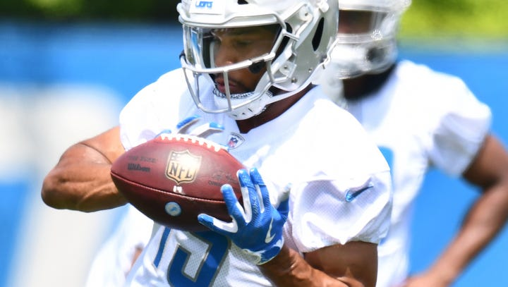 Lions' Golden Tate: 'Our goal is to play perfect football'