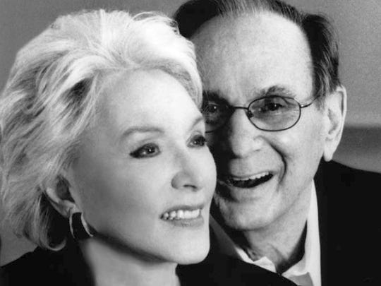Eunice and Hal David, circa 2007.