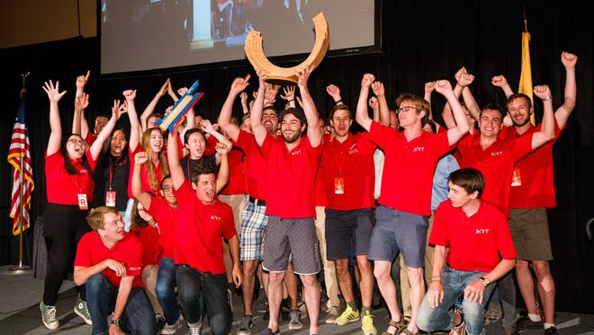 The McGill Rocket Team from Montreal was awarded the second Spaceport America Cup on June 23.