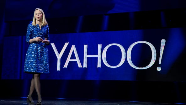 In this Jan. 7, 2014 file photo, Yahoo President and