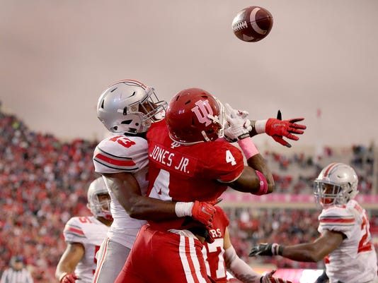 NCAA Football: Ohio State at Indiana