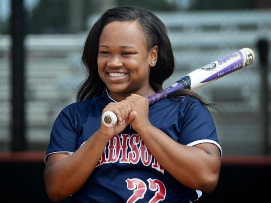 Madison's Alexus Jimmerson batted .609 this past season.