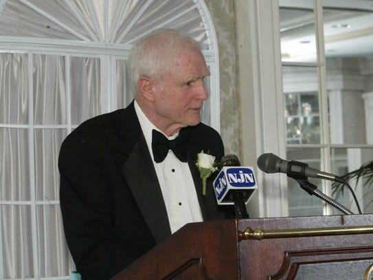 Former New Jersey Gov. Brendan T. Byrne.