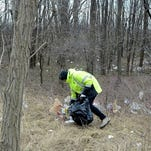 Cleanup continues of wind-blown litter from landfill