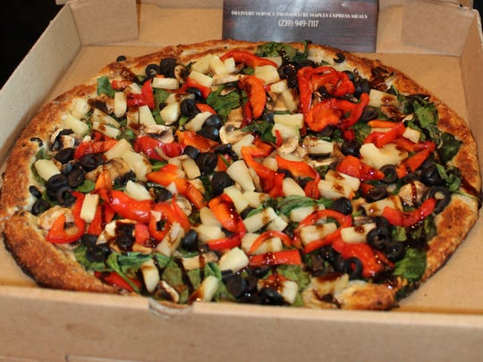 Power Pizza at BRK Pizza tp fit the Blue Zones Project