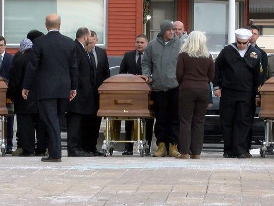 Long Branch Murder funeral