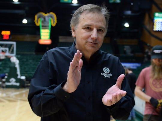 CSU coach Larry Eustachy wants basketball games to