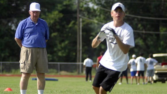 Former Mississippi State University coach Bob Tyler