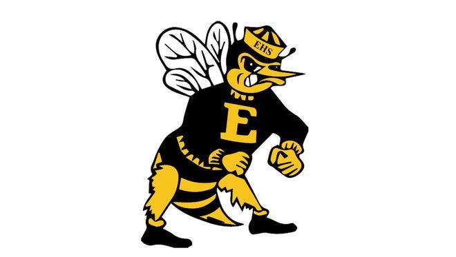 Enterprise High School (CA) Hornets logo.