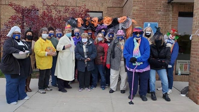 Civitan of Lenawee is a volunteer service group that helps people with disabilities. Active with the HOPE Community Center, Civitan members participated in the center's trunk or treat this year.