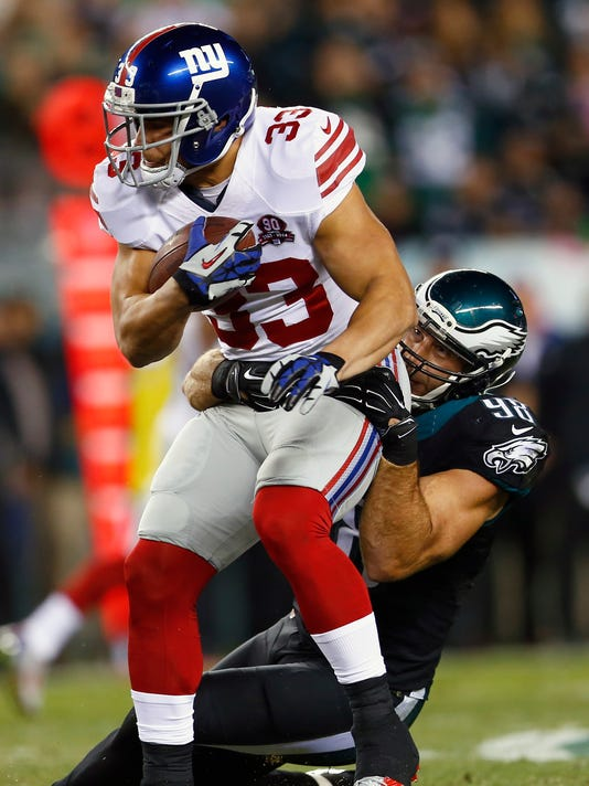 Giants Eagles Football (2)