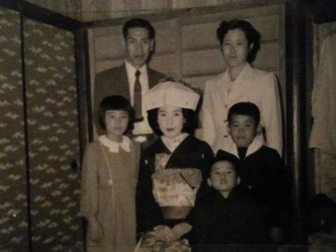 Toyoko Inoue Belcher's family in Japan.