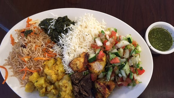 Sneak taste greenville 39 s new afghan restaurant for Afghan cuisine menu