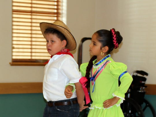 Ballet Folklorico dancers kept the audience entertained