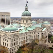 March for Our Lives rally in Indianapolis moving inside the Statehouse because of bad weather