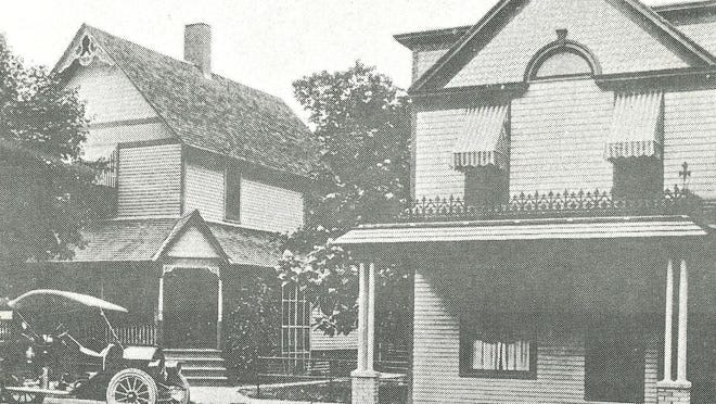 The Hal C. Blair Hospital in Morenci is pictured here. The hospital was  founded by Dr. Charles A. Blair, M.D. on July 24, 1908. It was named in memory of his son and was located at 124 North Street.