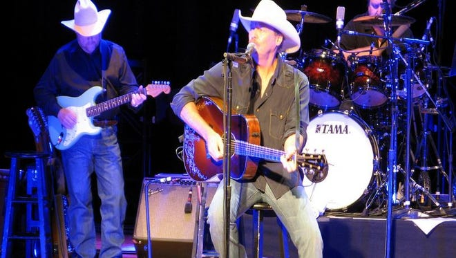 Country star Alan Jackson performing at the Country Music Hall of Fame Oct. 8.