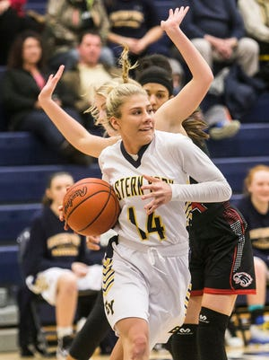 Eastern York's Hannah Myers averaged just under 19 points per game last season as a junior, which was the second-best average in the York-Adams League.