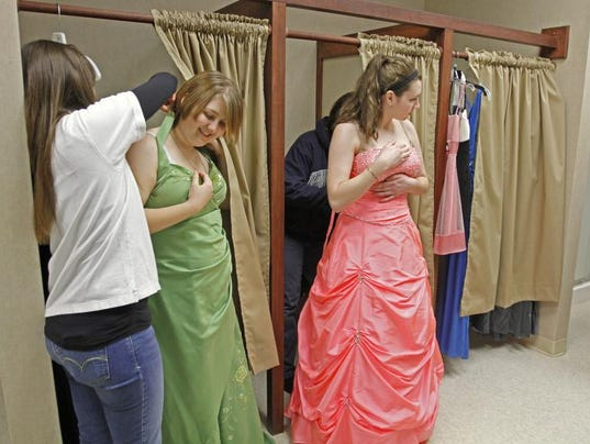 Donate your prom dress or formal gowns