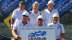 Park Meadow's 7.0 men's team won the USTA Florida Adult 65 & Over title last weekend.