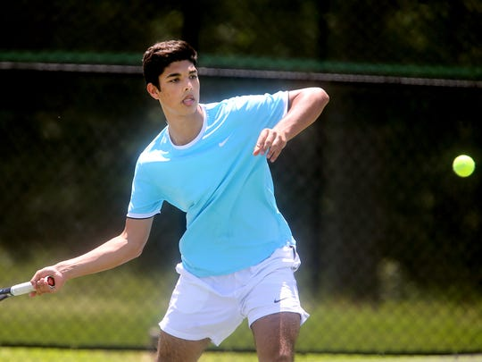 Siegel's Hussain Alzubaidi will battle Wilson Central's Michael Mercante in the first round of the state individual singles tournament Thursday.