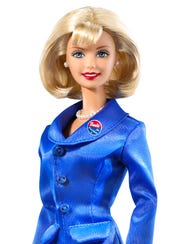 Barbie Presidential Candidate doll from 2000.