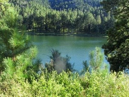 Though silt still hasn't been removed from runoff after the 2012 Little Bear Fire, Bonito Lake looks appealing.