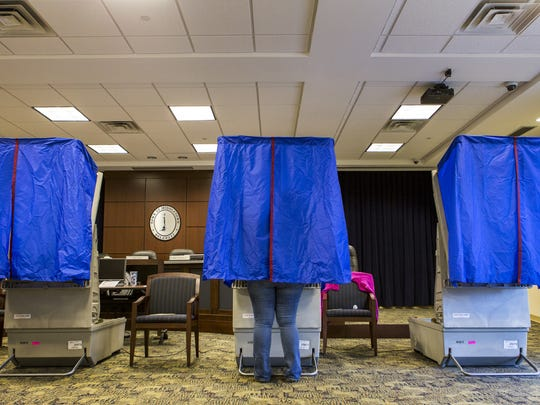 Polls open at 7 a.m. and close at 8 p.m. in Thursday's primary election. In the 2014 primary, only 7 percent of Democrats and 14 percent of Republicans voted.