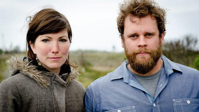 Anna Tivel and Jeffrey Martin play the Honest Folk series at Good Luck restaurant.