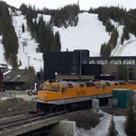 Nation's only airport-to-ski slope train a hit this season