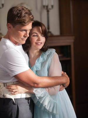 Rob Lowe and Ginnifer Goodwin as President and Mrs. Kennedy in 'Killing Kennedy,' which is based on Bill O'Reilly's book.