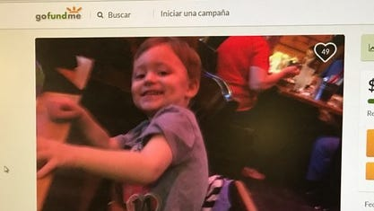 A GoFundMe account has been set up for funeral expenses for Ryan Morales, 2.