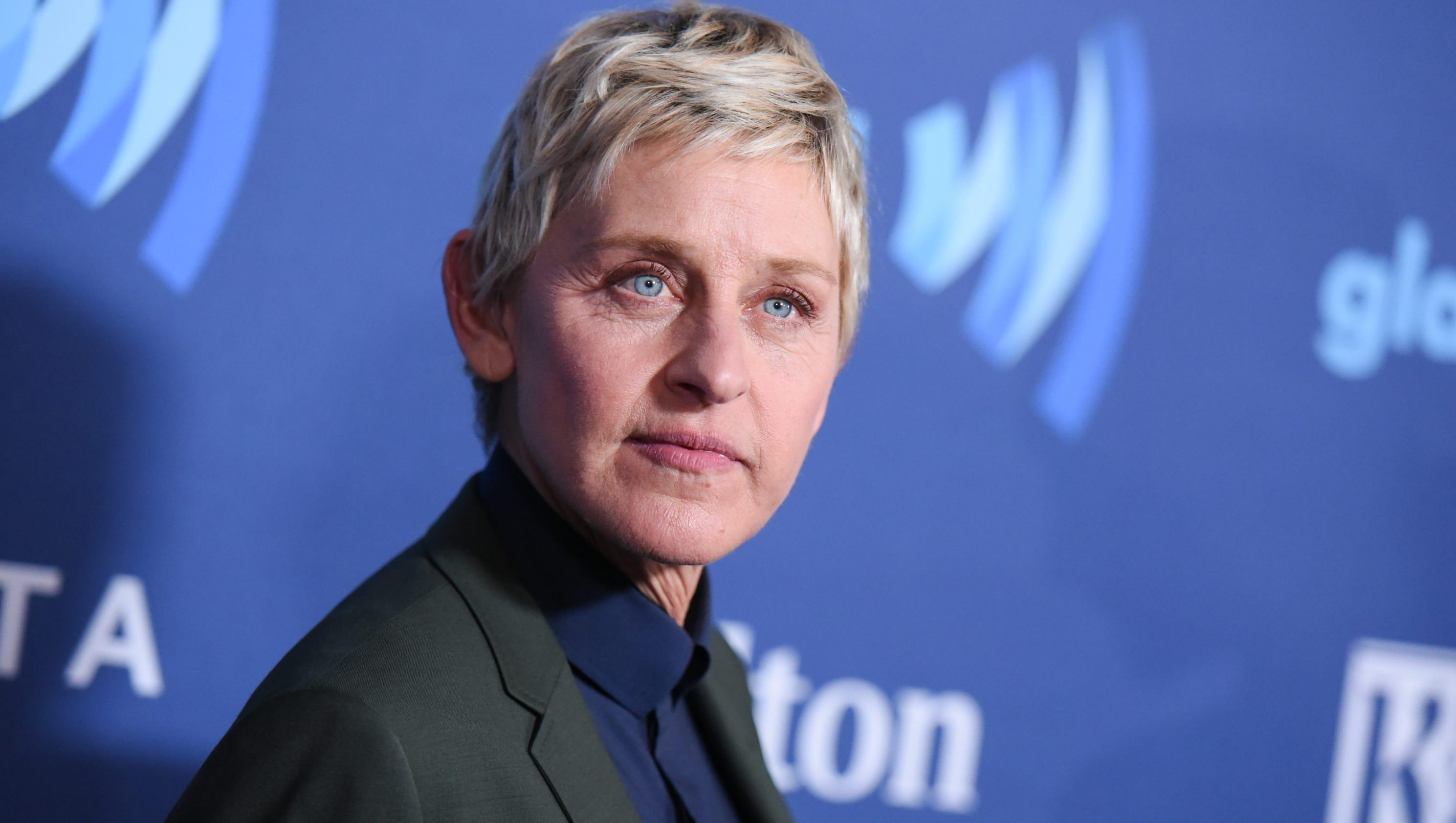Ellen degeneres forgot to bring her id to the white house for How is ellen degeneres