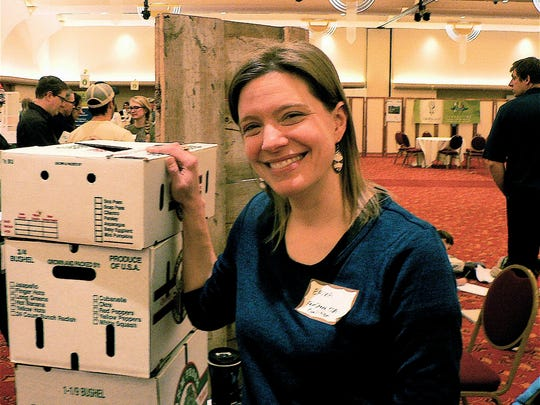 Erika Jones, executive director of Fairshare CSA Coalition, works with 54 farms and 14,000 households.