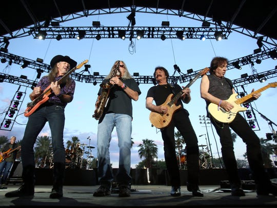 The Doobie Brothers perform at Stagecoach, California's
