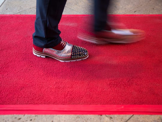 Guests of the Naples International Film Festival arrive