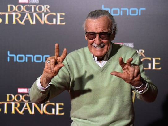 Comic book icon Stan Lee is scheduled to appear at
